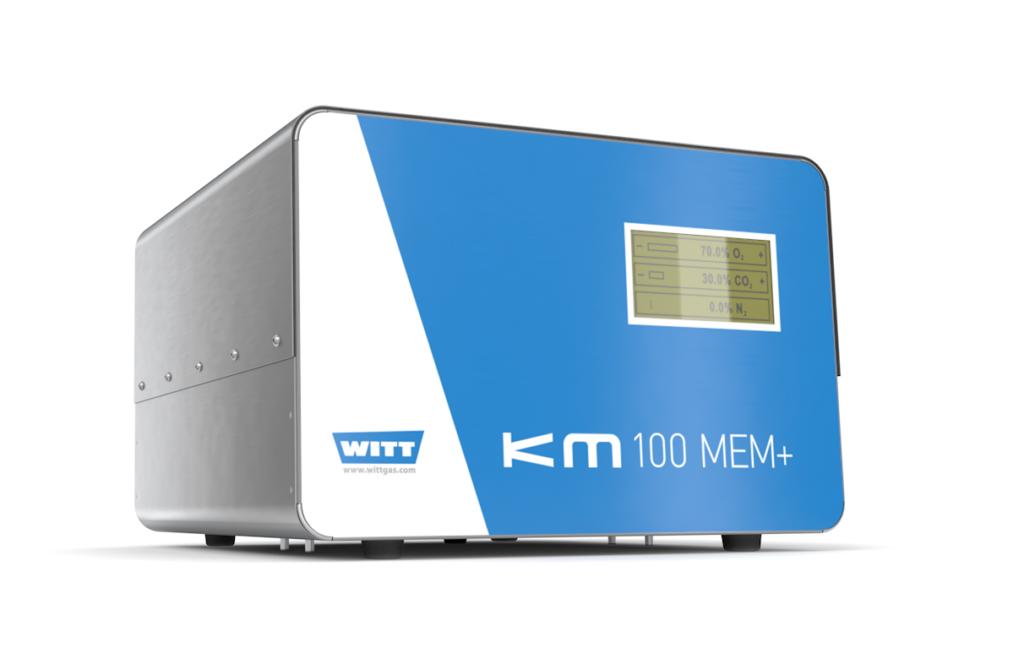 Gasmischer mit elektrischen Mischventilen - KM-MEM+